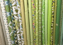 Fabric on display at Sew Much To Do