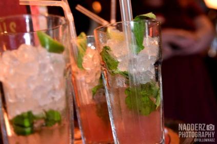 Photo of three mocktail drinks