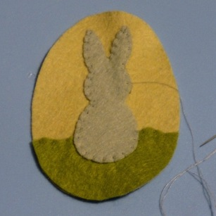 Photo of Jenny's rabbit decoration