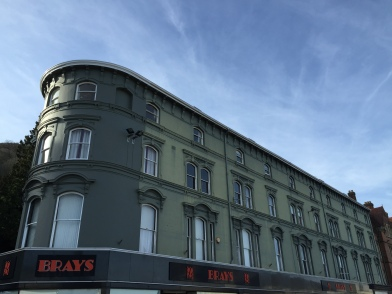 Photo of the beautiful building which houses Brays of Malvern, a department store established in 1895
