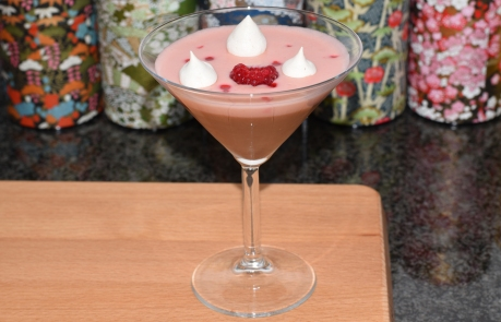 A photograph of the Roseberry Pudding.