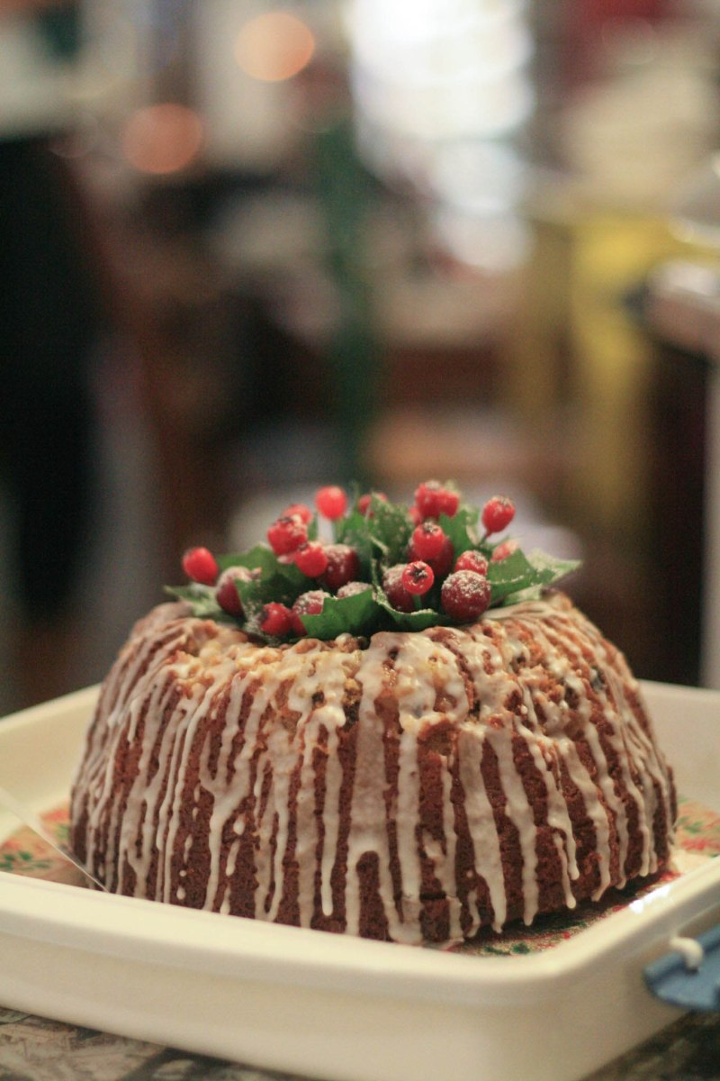 A photograph of Emma's Festive Bundt that was shared at the CCC meet