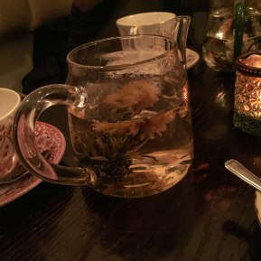 A photograph of Mountain Dream flowering tea