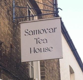 A photograph of the Samovar Tea House