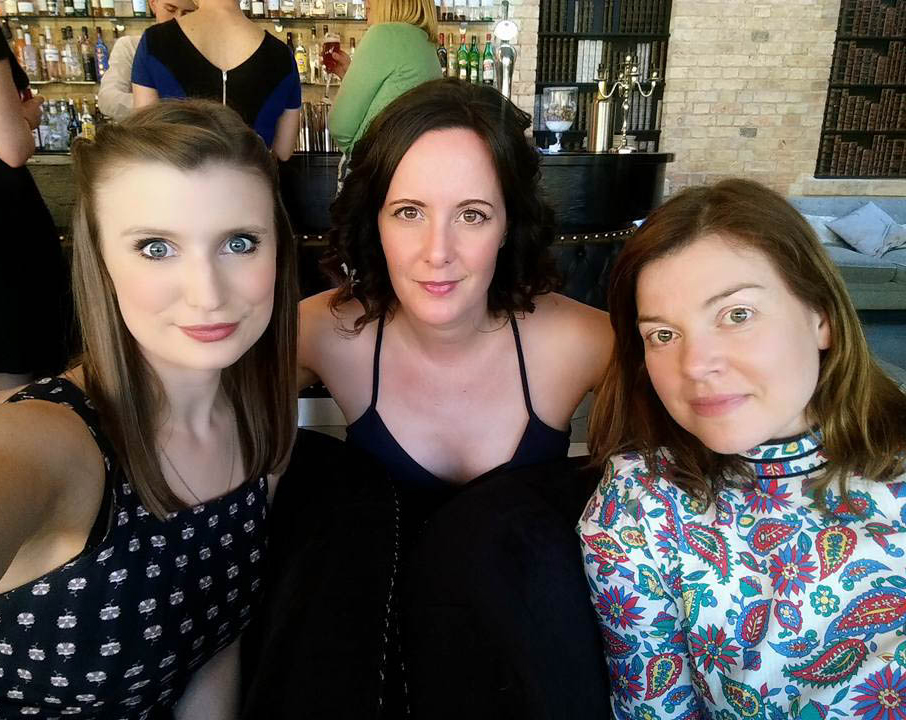 A photograph of Emma's friends