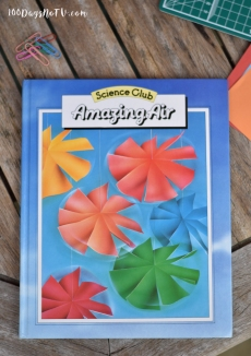 A photograph of Amazing Air, a Science Club book that Emma had as a child.