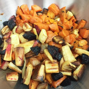 Roasted root veg
