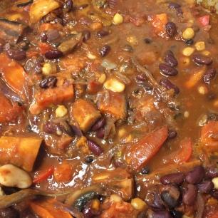 Veg and Bean one pot