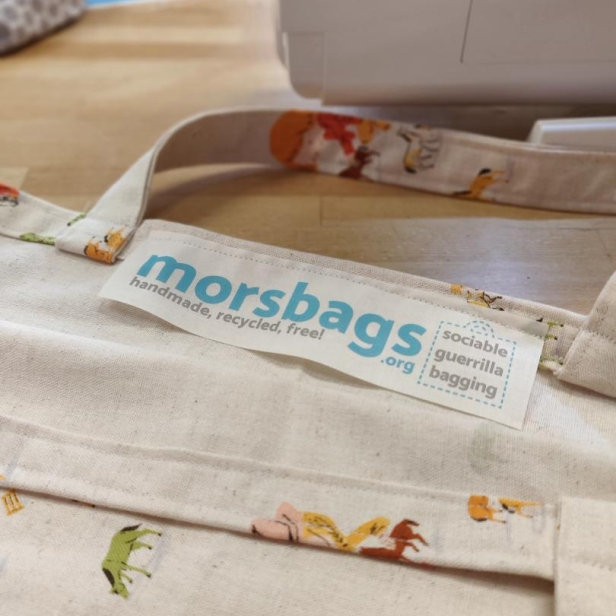 Morsbag label