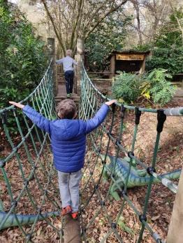 A-mazing rope bridge