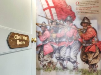 Entrance to the newly revamped Civil War Room
