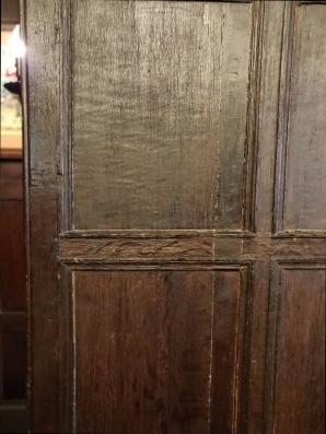 Oak panelled walls