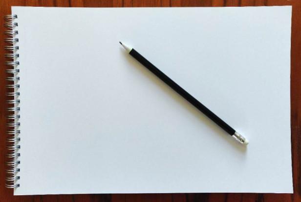 Drawing pad and pencil